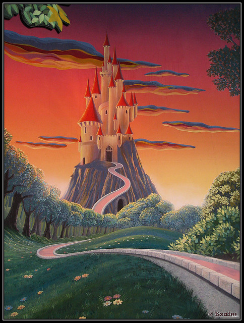 Chateau De Blanche Neige Disneyland Paris Flickr Photo Sharing