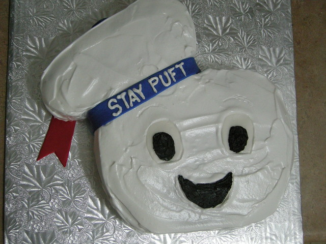 Stay Puft Marshmallow Man Cake Sept 08 Flickr Photo