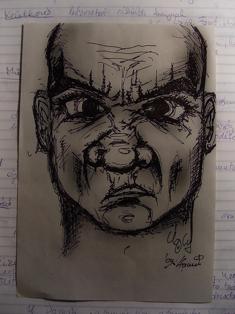 ugly face - Draw | Flickr - Photo Sharing!