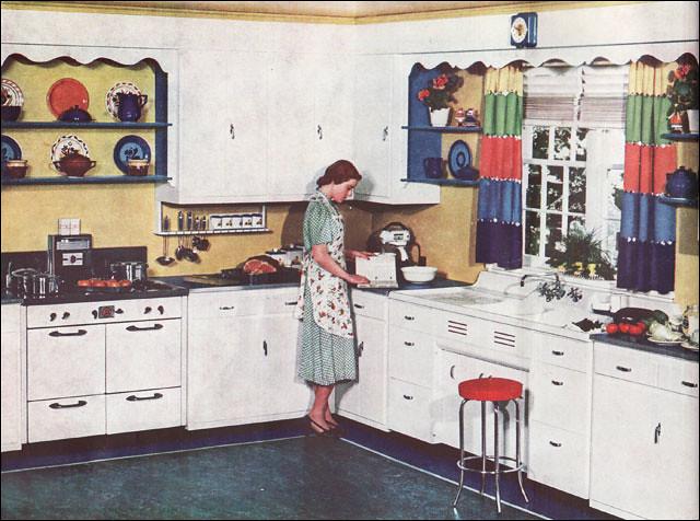 Kitchen Farmhouse 1920