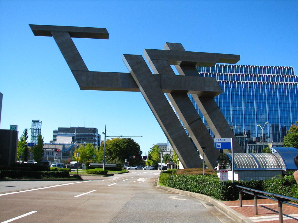 Modern Structure Kanazawa Station