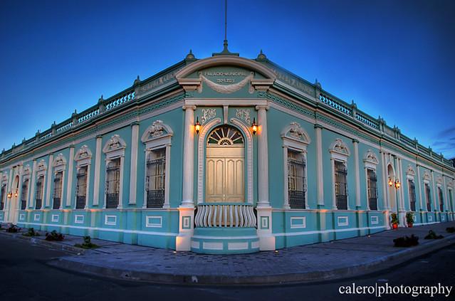 Palacio Municipal de Bellas Artes, Santa Tecla, El ...