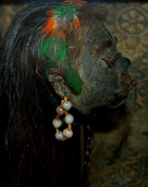 Female Shrunken Head   Flickr - Photo Sharing!