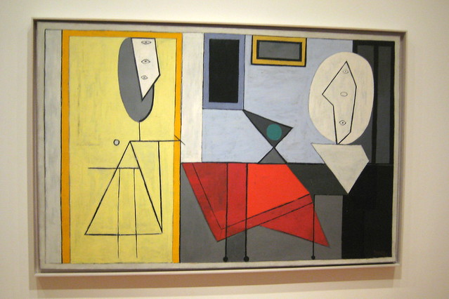 Nyc Moma Pablo Picasso S The Studio Flickr Photo