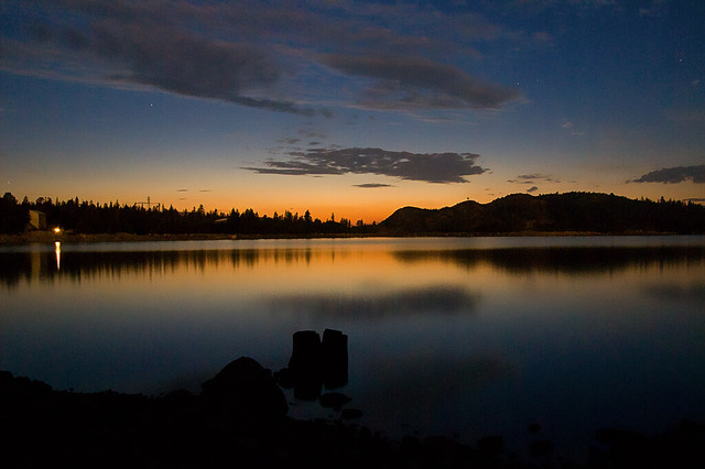 Sunset On Loon Lake Flickr Photo Sharing