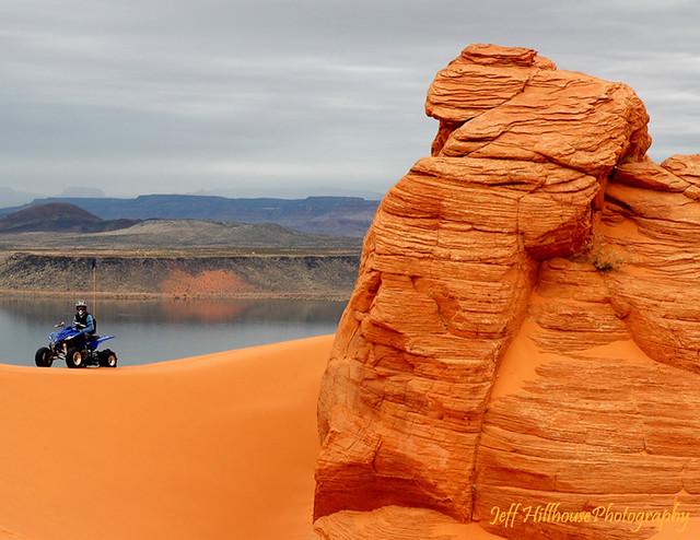 Utah 4 Wheeler Dunes Sand Map