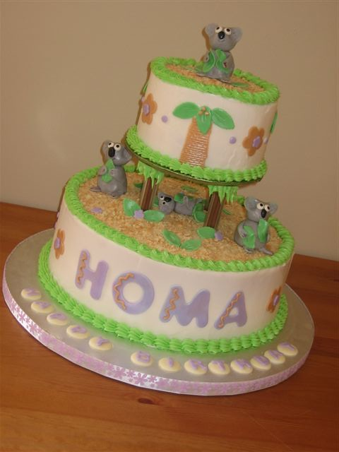 Koala Bear Birthday Cake I Was Asked To Create A Koala