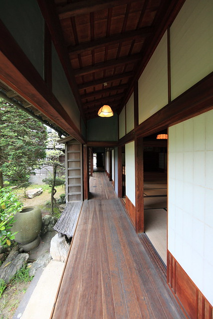 Japanese Traditional Style Samurai House 稲葉家下屋敷 いなばけ しも