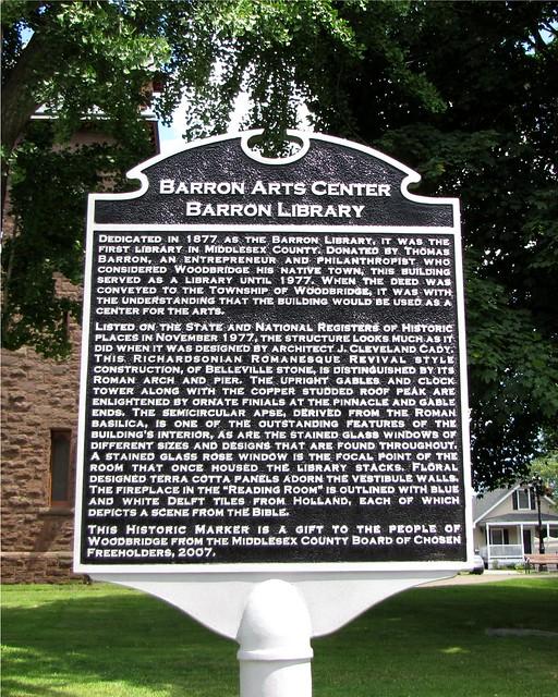 Barton Art Center Woodbridge Nj
