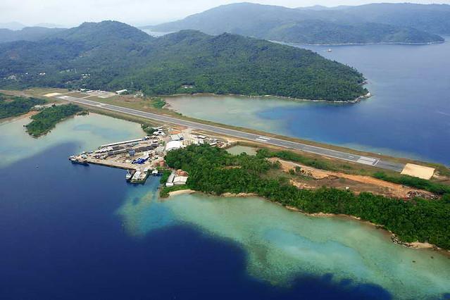 MATAK ISLAND | Air strip at Matak Island, Natuna ...