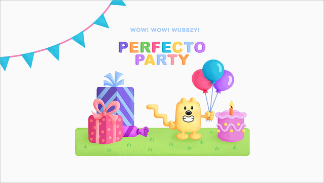 Wow Wow Party Wubbzy Perfecto