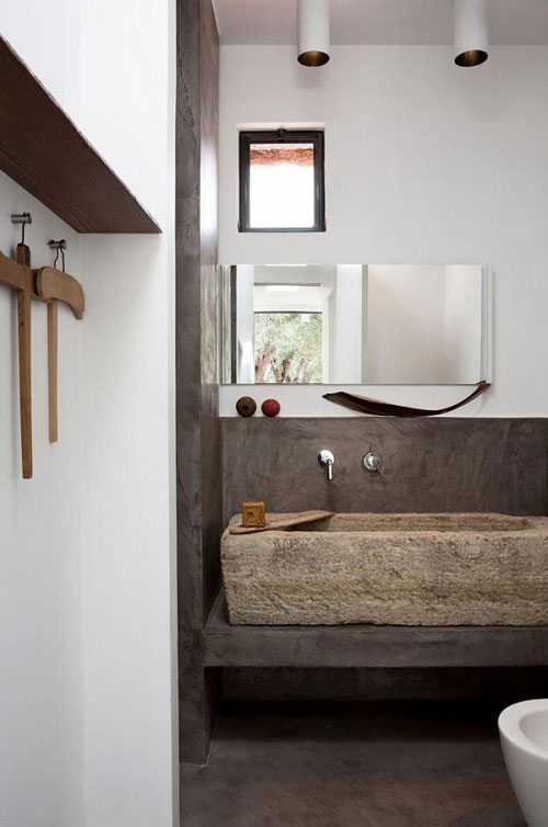 10 OF THE MOST BEAUTIFUL BATHROOM SINKS MADE OF STONE   THE STYLE FILES stone sink 2 jpg