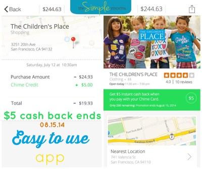 chime :: debit card with cash rewards :: app review ...