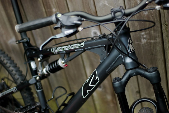 K2 Full Suspension Mountain Bike
