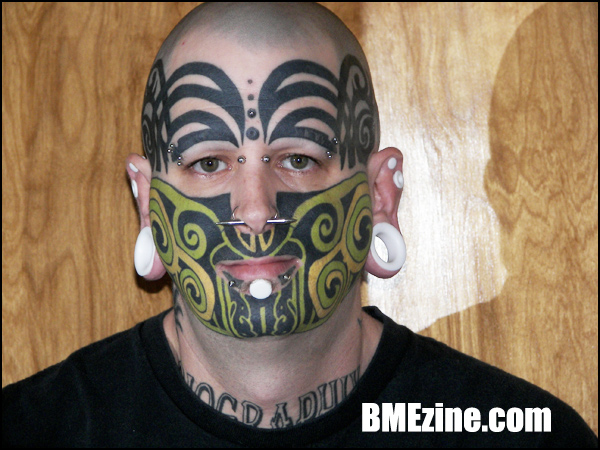 Facial Tattoos: The Good, the Bad and the Ugly: unsane1