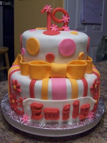 19th Birthday Cake Nadine Boutilier Flickr