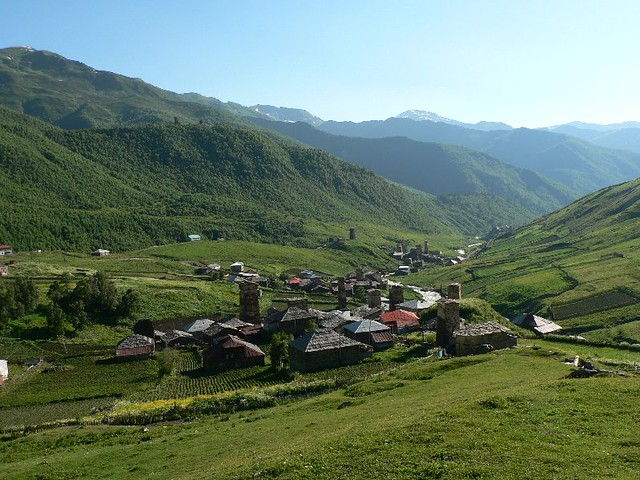 Ushguli Tbilisi Amp Caucasus Mountains Georgia Village