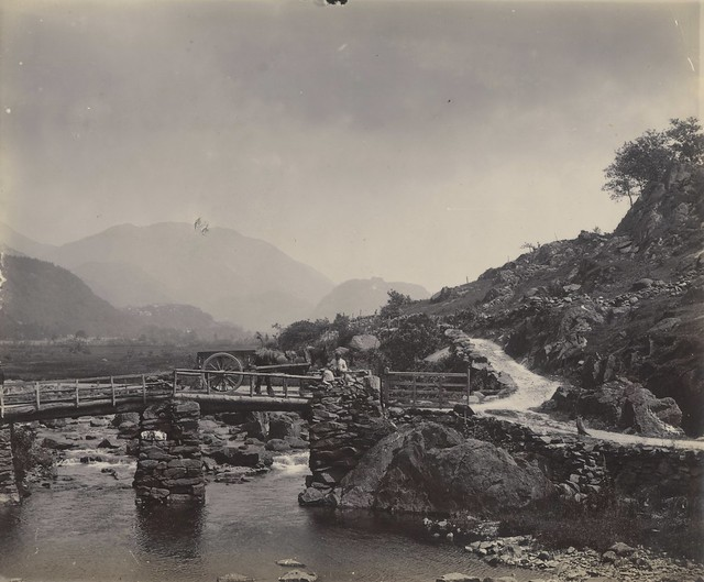 Late 1800s Early 1900s Photograph Of Glaslyn River At Bed