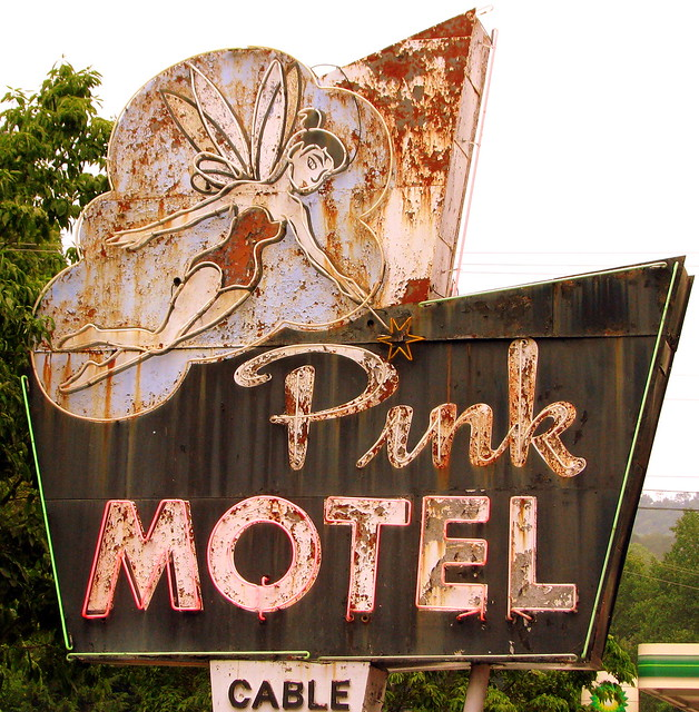 Pink Motel Cherokee Nc Flickr Photo Sharing