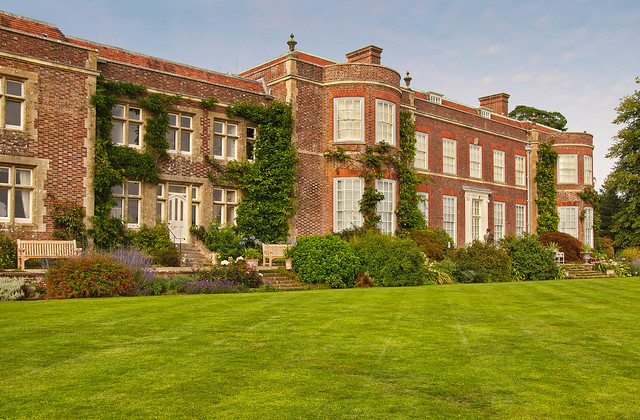 The South Front Of Hinton Ampner A Stately Home In