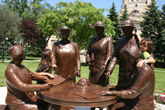 Famous Five At The Manitoba Legislature Flickr Photo
