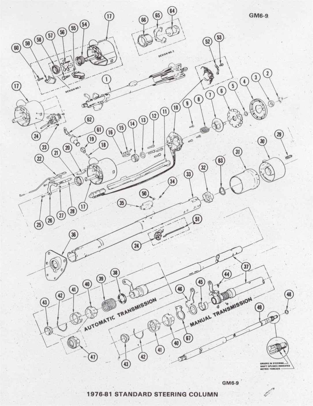 2000 Camaro Steering Column Schematics