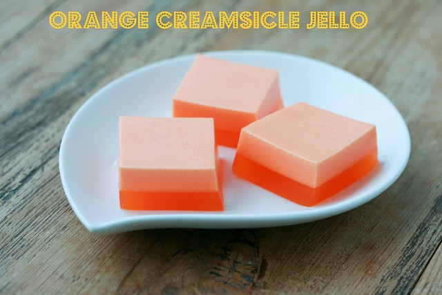 Salad Creamsicle Jello Orange Recipe