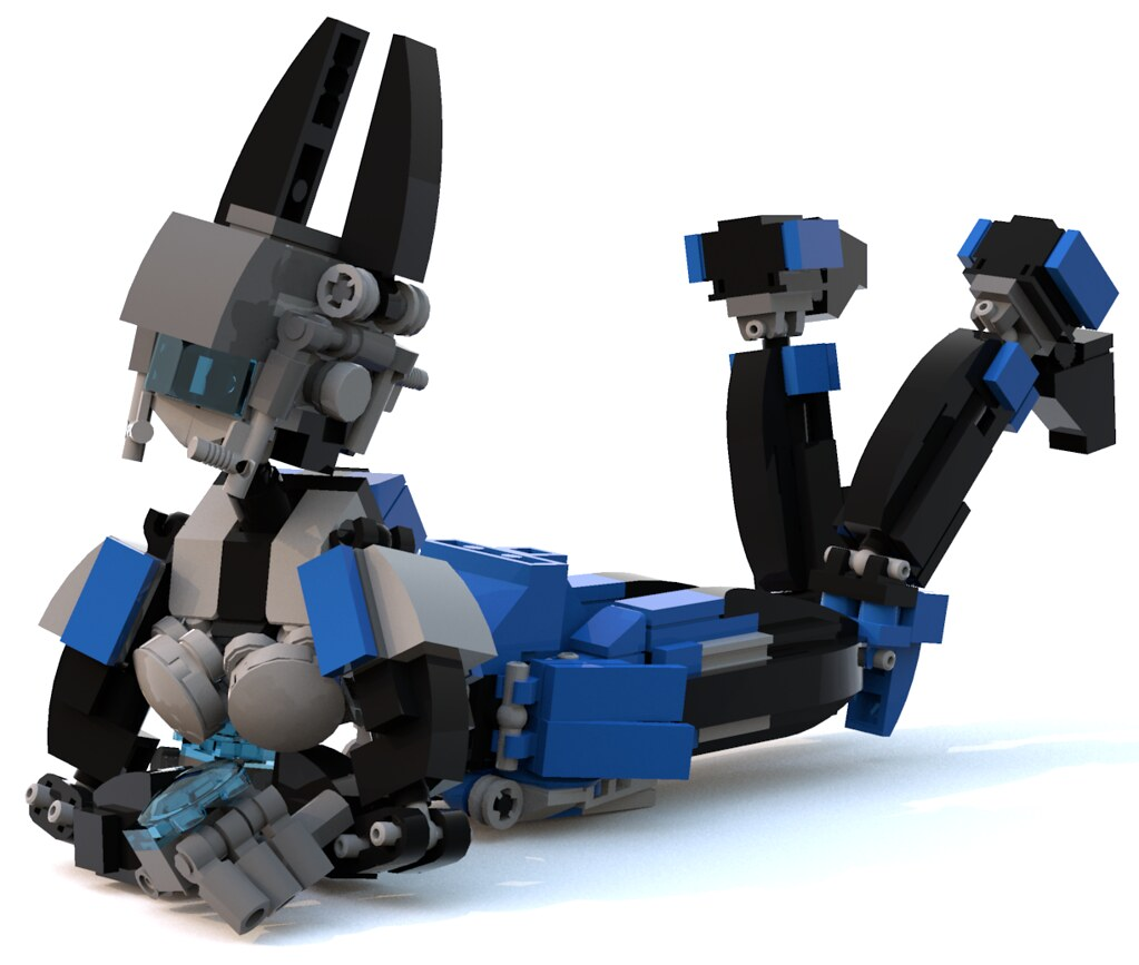 The World s newest photos of eve and lego   Flickr Hive Mind eve 7  pb0012  Tags  eve blue brick robot lego fembot android mecha mech