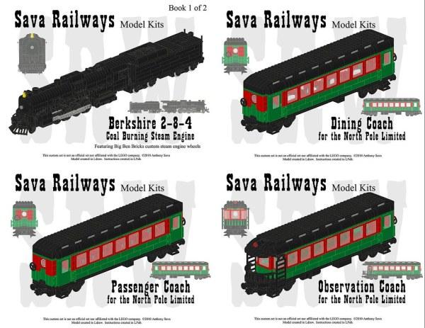 polar express lego train set # 68
