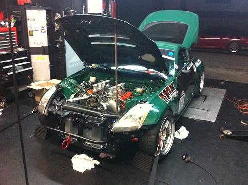 Ryan Kado S Vk56 Powered 350z Formula D Competition Car