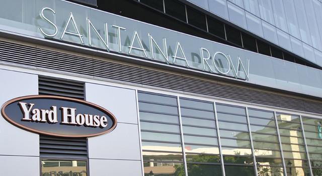 House Santana Row Yard Menu