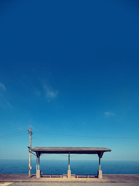 下灘駅 Shimonada Station Flickr Photo Sharing