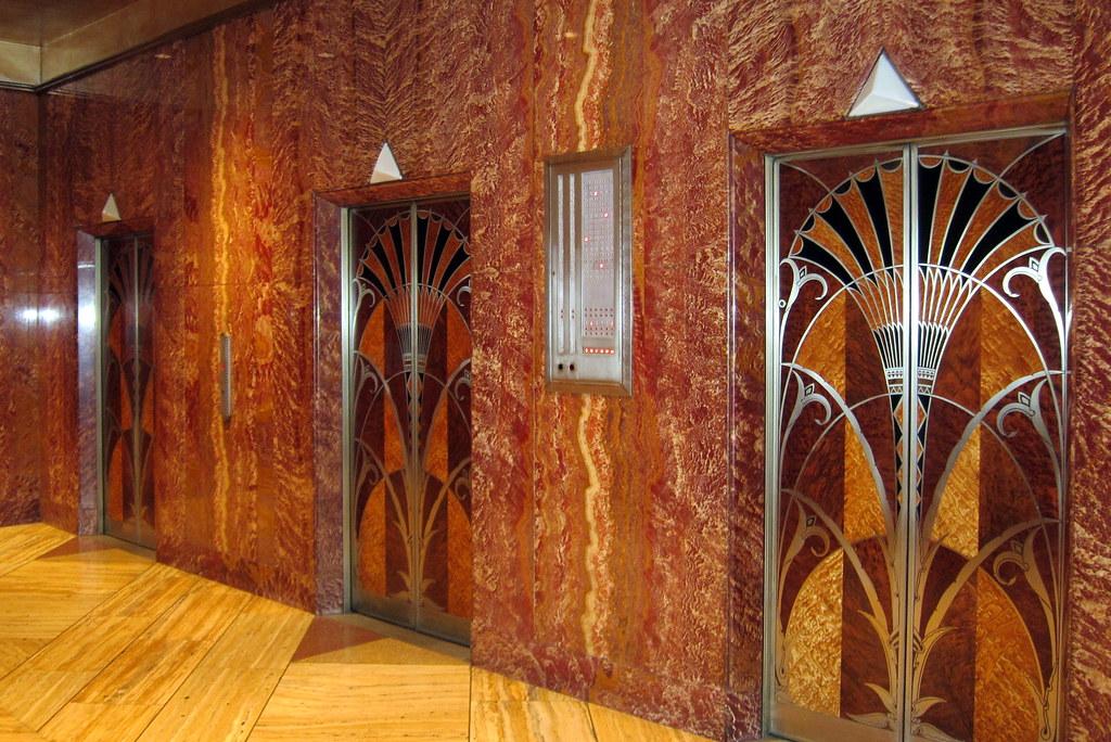 Art Deco Interior Doors