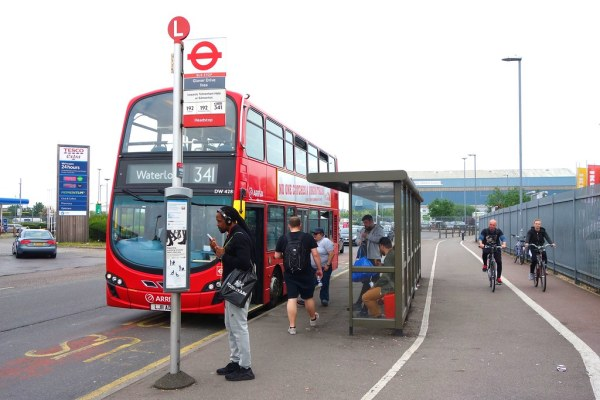 ikea pictures london bus # 79