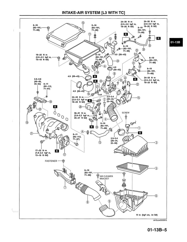 2010 ms3 turbo downpipe and exhaust torque specs 2004 to 2016 rh mazda3revolution 2004 mazda 3 manual engine mazda 3 parts diagram