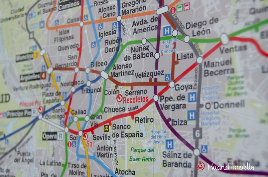Madrid Subway Map A free Madrid subway map is available at most Metro stations  Go to the  ticket office and ask the staff to hand you one  All you have to say is    Un  mapa