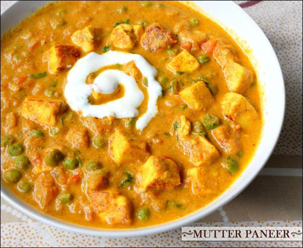 September 2010   Raks Kitchen matar paneer recipe