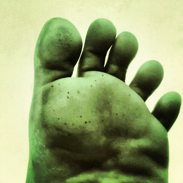 Transformation Hulk Feet Red She