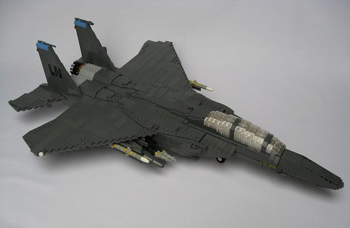 F 15 Strike Eagle   The Brothers Brick   The Brothers Brick F 15E Strike Eagle  2