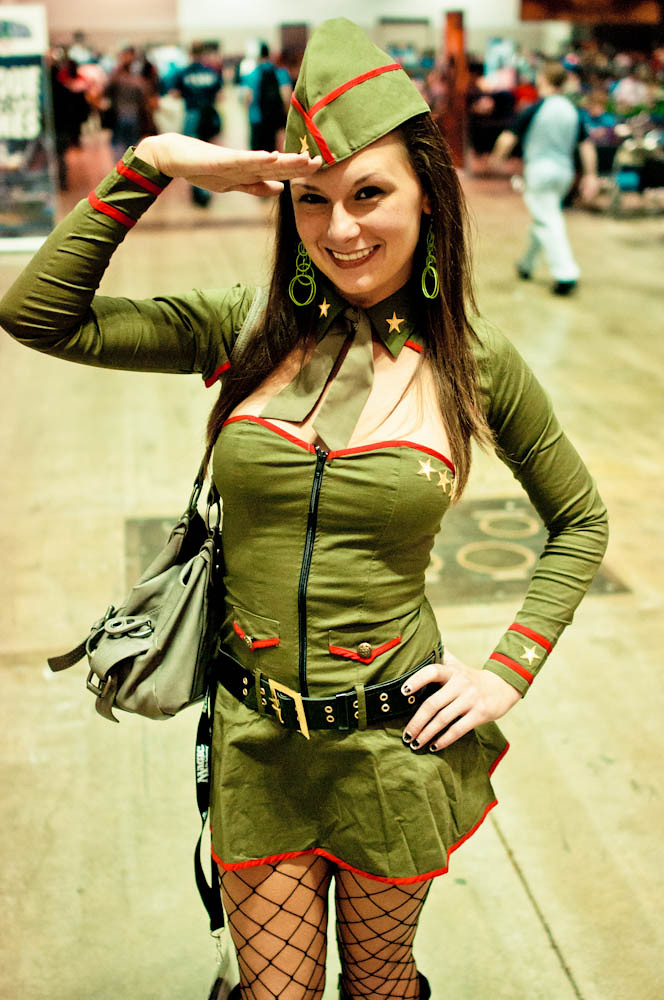 World War II Pin Up Girl Costume | David Jensen | Flickr