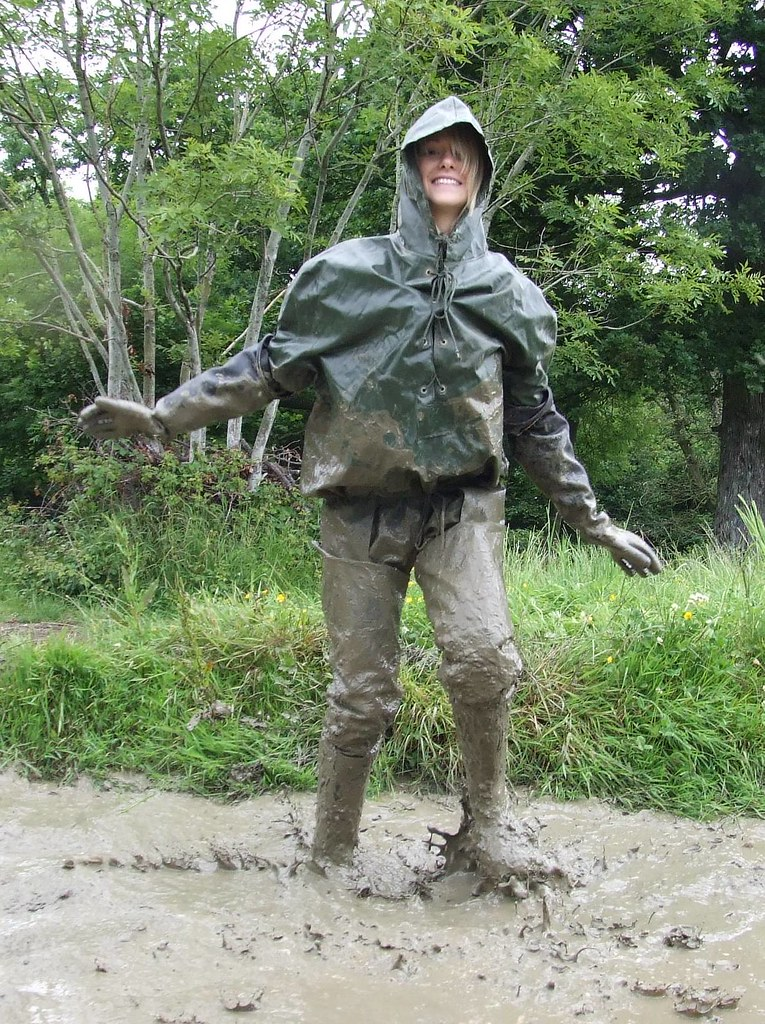 Women rubber waders mud for Women s fishing waders