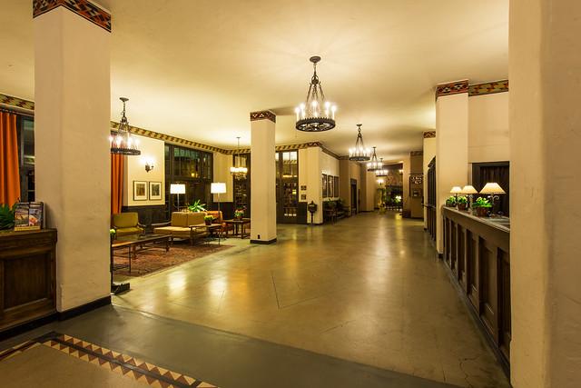 The Overlook Hotel Lobby The Ahwahnee Hotel Yosemite