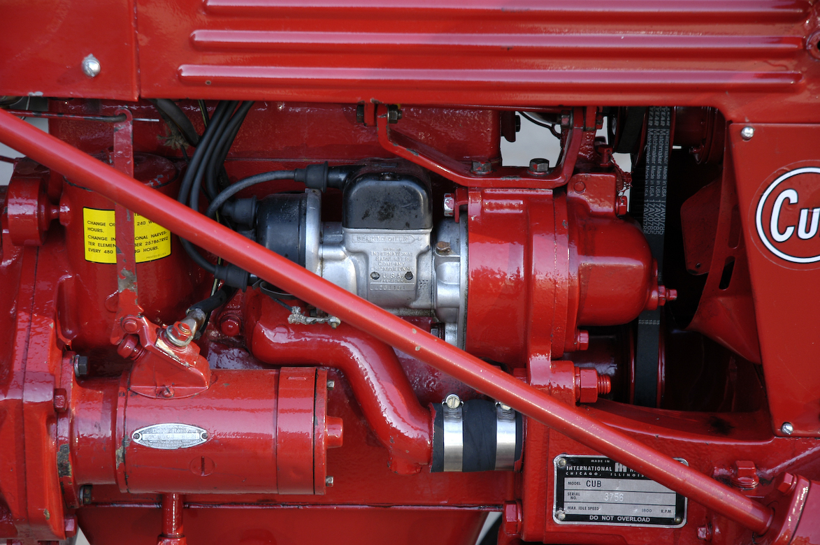 9f96 1949 Farmall Cub Tractor Wiring Diagram For