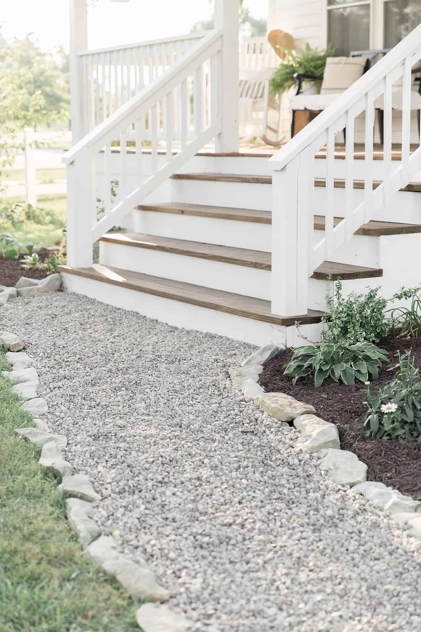 How To Cover Concrete Steps With Wood Farmhouse On Boone | Replacing Concrete Steps With Wood | Stringers | Stair Railing | Composite Decking | Pouring Concrete | Concrete Slab