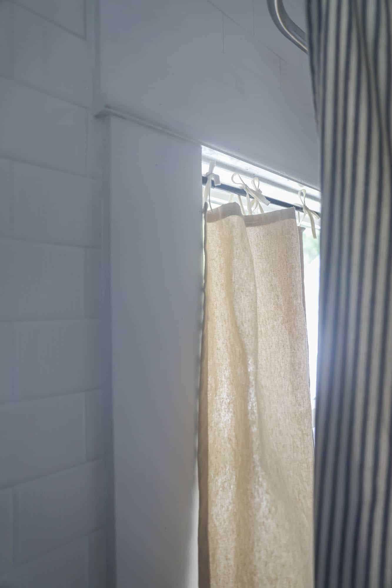 How To Make Drop Cloth Curtains Farmhouse On Boone