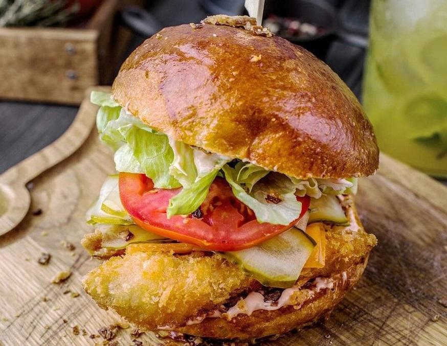 Fishburger фотосуреті