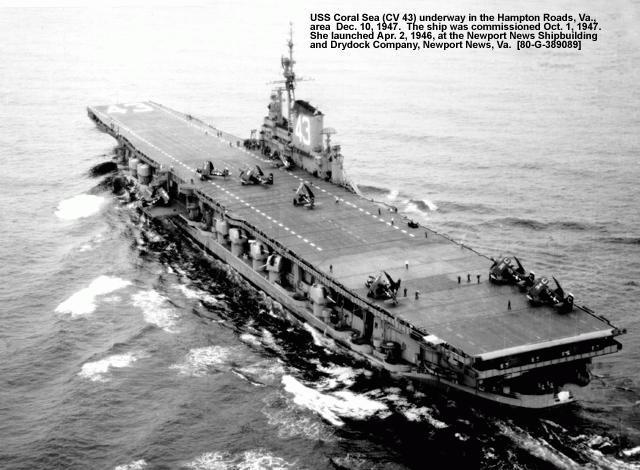 Midway Cv Uss Uss Cv 65 Coral Enterprise Sea Cv 41 Uss 43