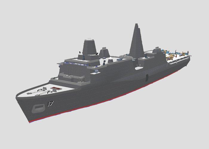 Lpd 17 San Antonio Class Navy Ships