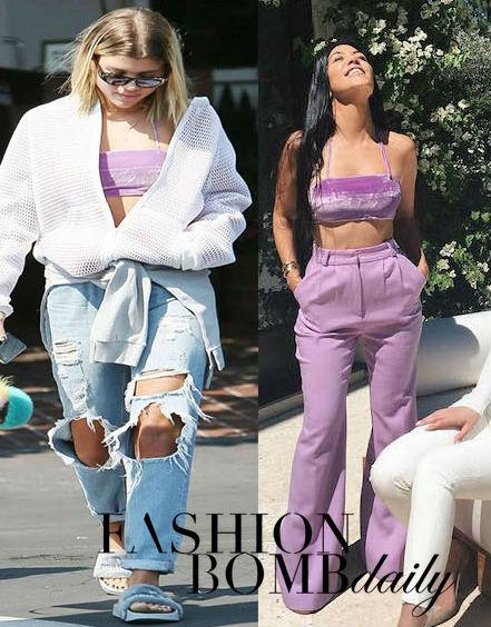 Velvet Puma Slides Rihanna