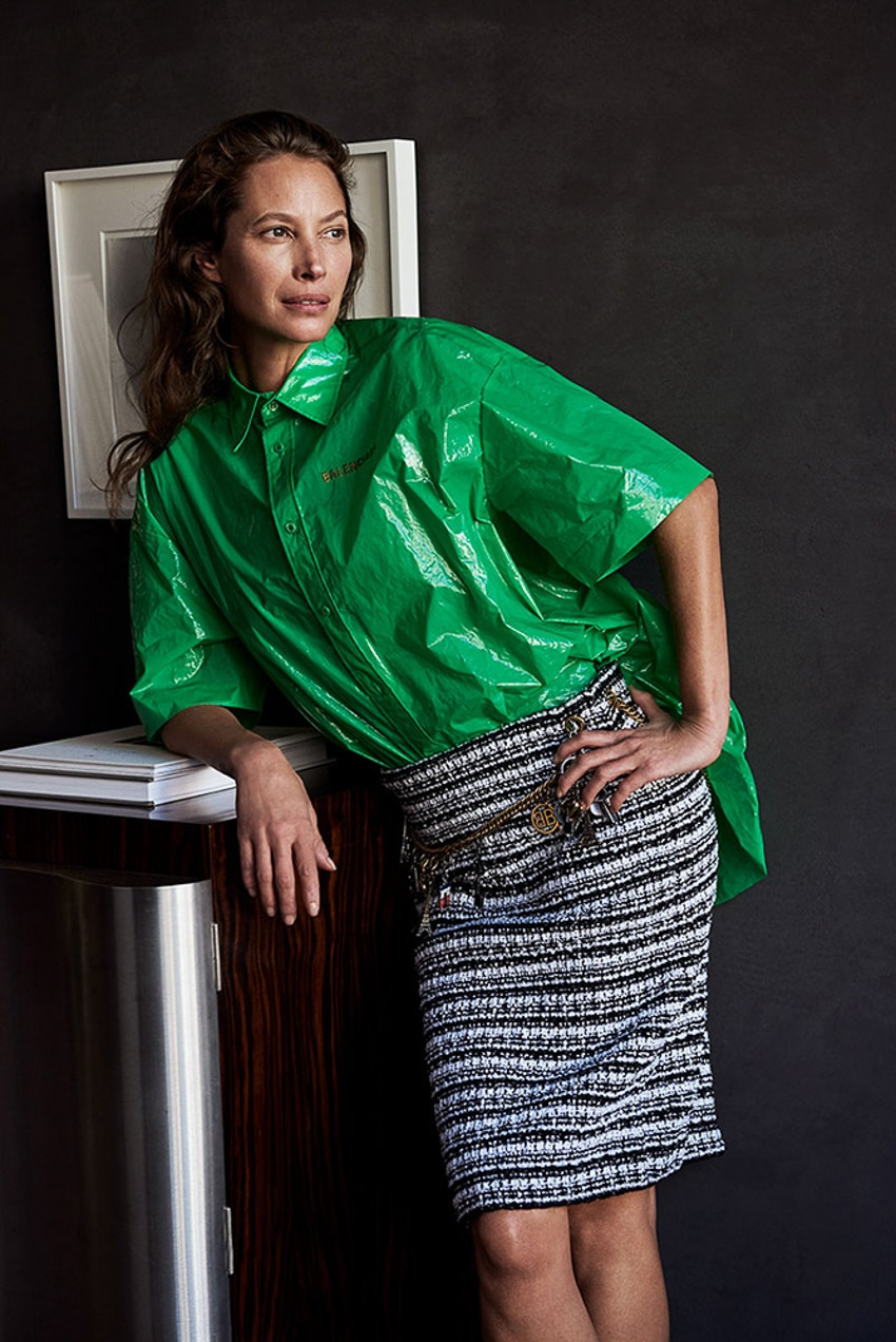 Zeit Magazin February 2018 Christy Turlington By Pamela
